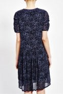 Pyrus Ulla Ruched Sleeved Dress in Batik Print