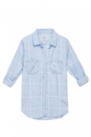 Carter Water colour Grid Shirt