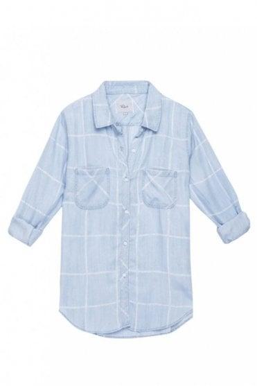 Carter Water colour Grid Shirt