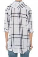 Rails Charli Shirt in Vanilla/Navy Plaid