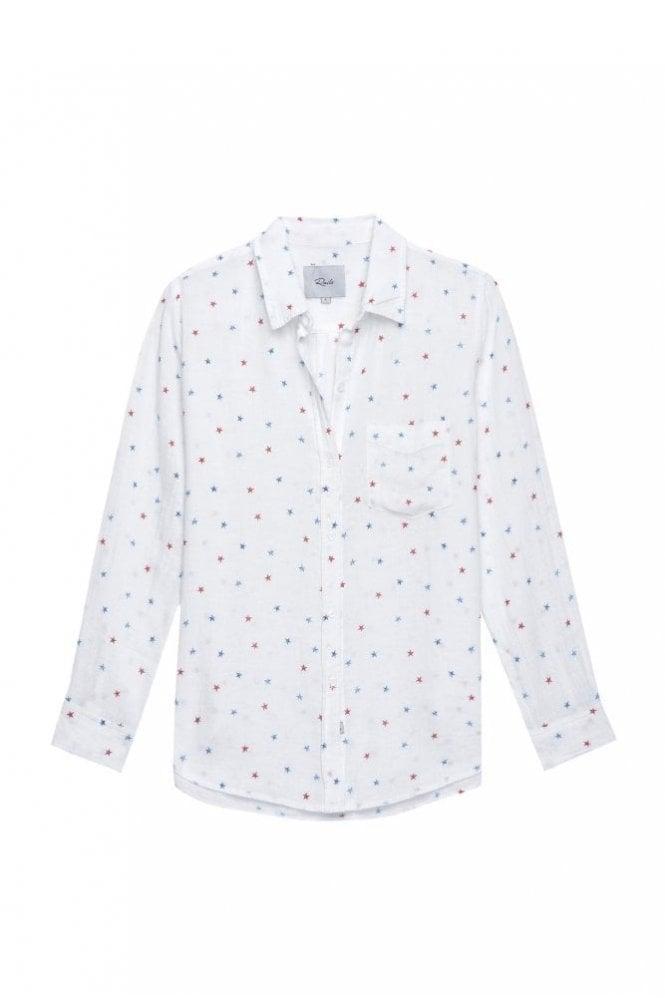 Rails Charli Shirt in Watercolour Stars