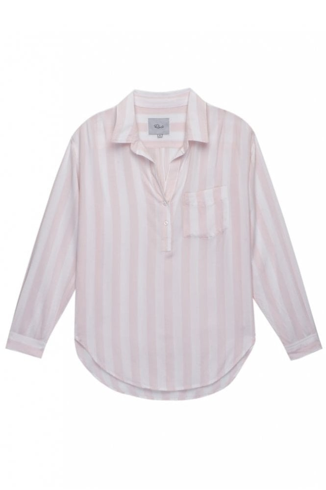 Rails Elle shirt in Peony/White