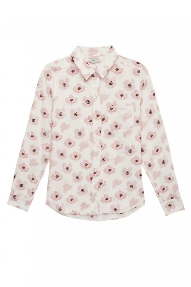 Rails Kate Shirt in Pink Poppies