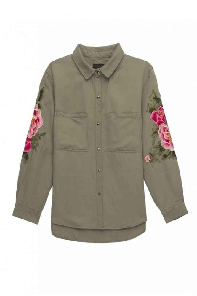 Rails Marcel Shirt in Sage Pink Floral