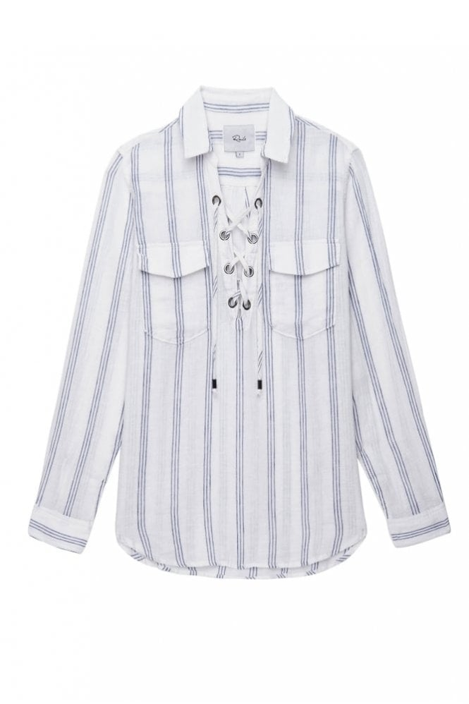 Rails Matea Shirt in Flamenco Stripe