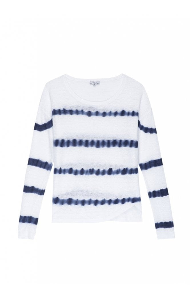 Rails Perri Top in White Indigo Tie Dye