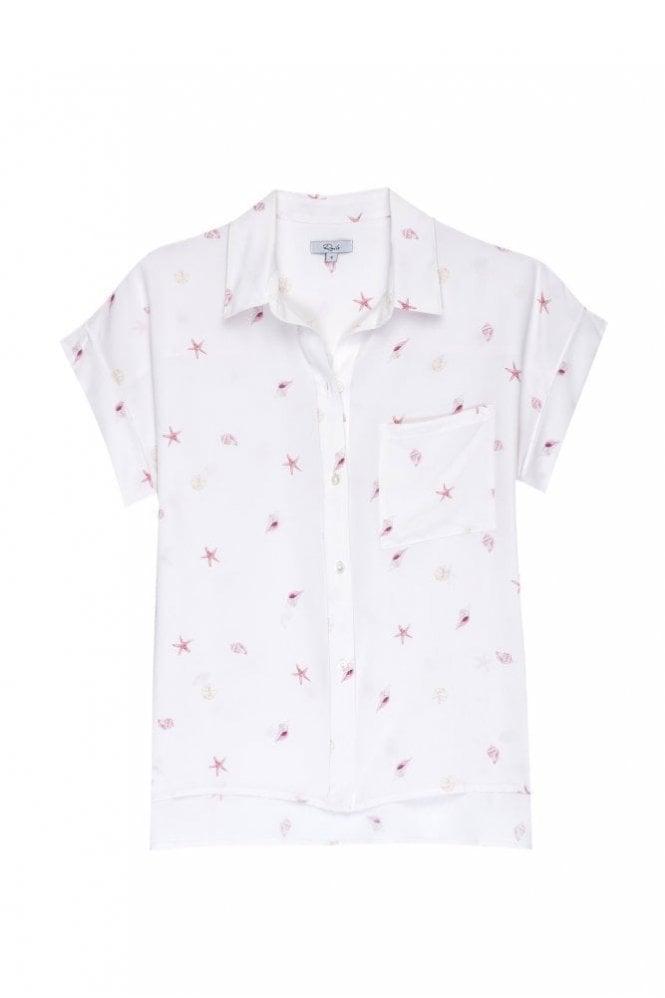 Rails Whitney Shirt in Silk Beach Side