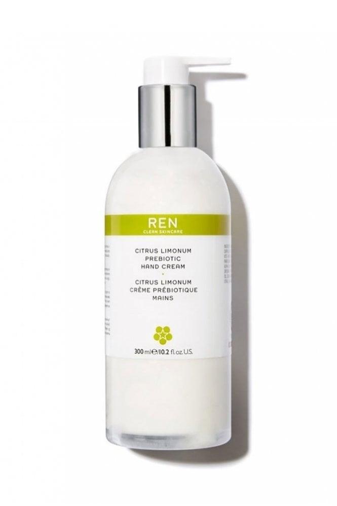 REN Clean Skincare Citrus Limonum Prebiotic Hand Cream