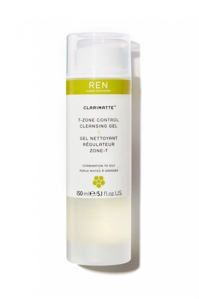 REN Clean Skincare Mayblossom T-Zone Control Cleansing Gel