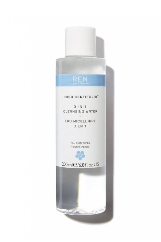 REN Clean Skincare Rosa Centifolia™ 3-in-1 Cleansing Water