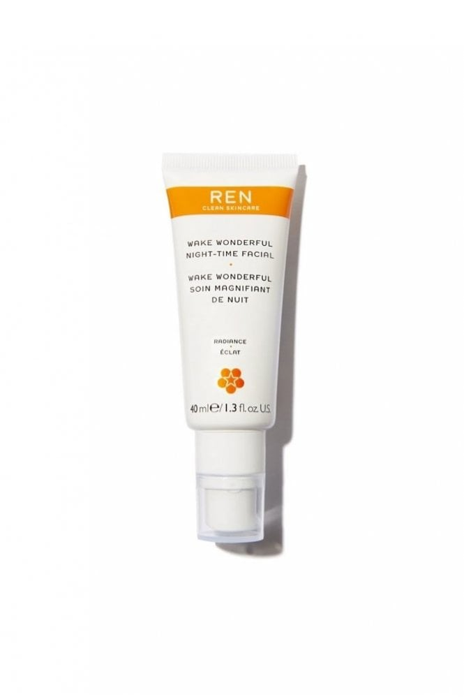 REN Clean Skincare Wake Wonderful Night-Time Facial