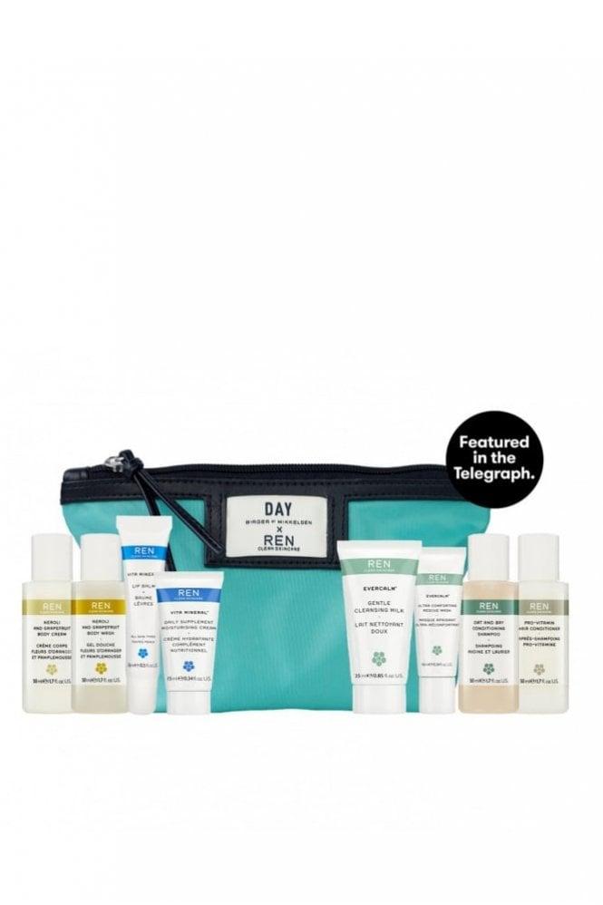 REN Clean Skincare Day Birger Travel Kit