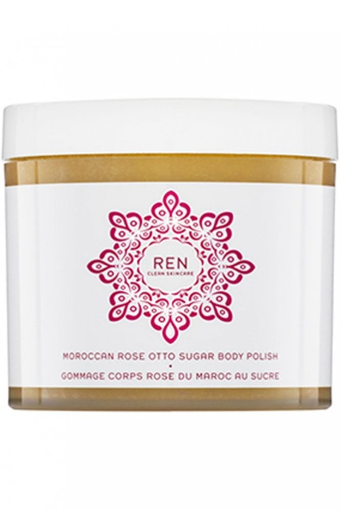 REN Skincare Moroccan Rose Otto Sugar Body Polish