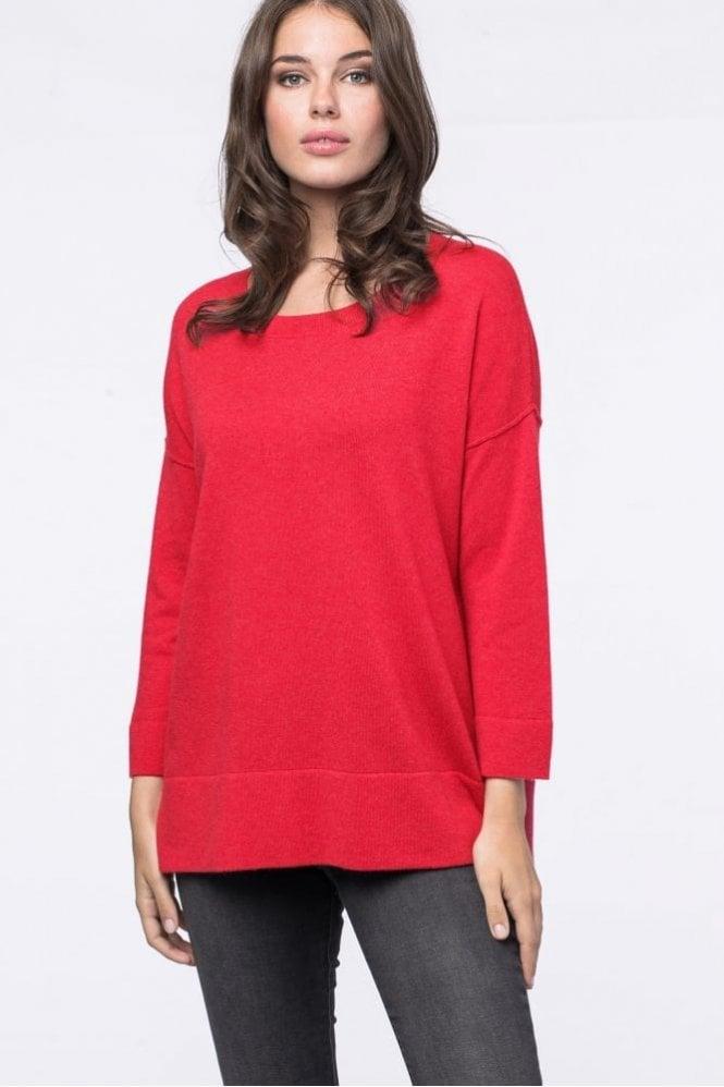 Repeat Cashmere Wide Hem Sweater