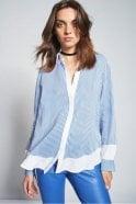 Riani Blue Striped Shirt