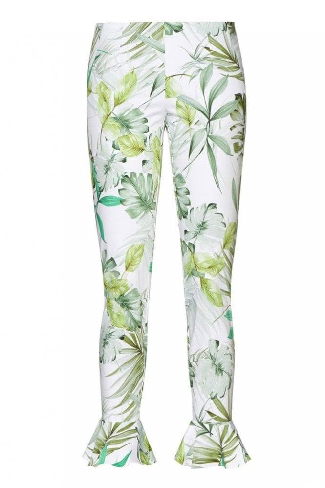 Riani Caiman Patterned Slim Fit Pants