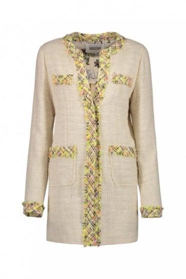 Cream Frock Coat