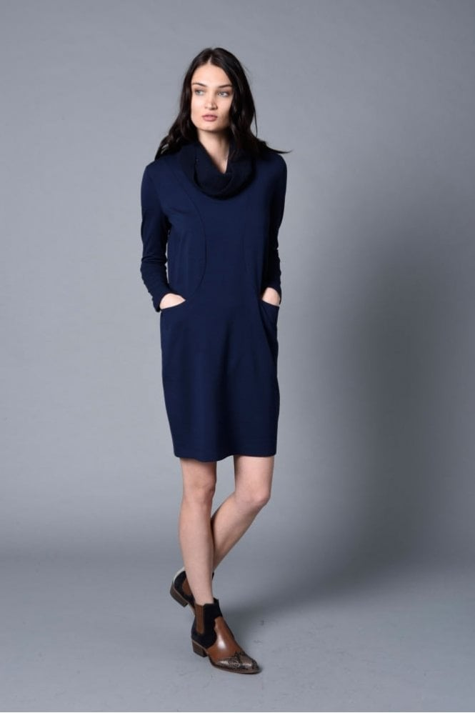 Riani Deep Blue Dress