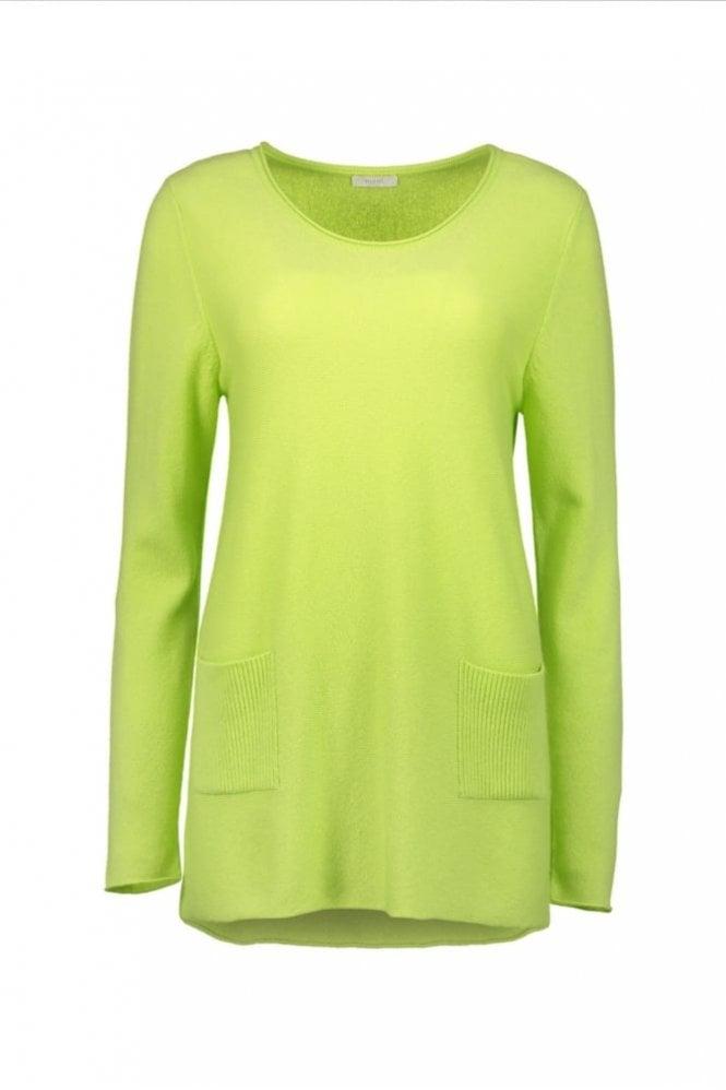 Riani Green Glow Cashmere Pullover