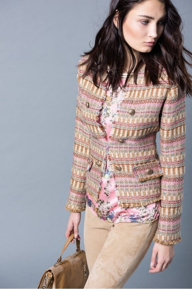 Riani Lurex Tweed Jacket