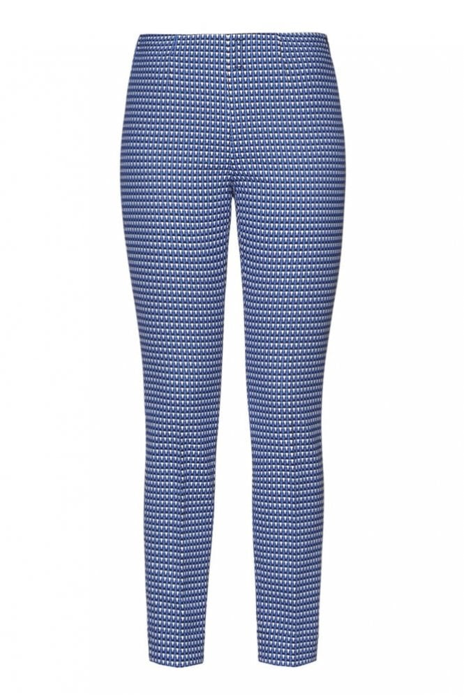 Riani Olympic Blue Patterned Pants