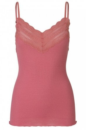 Benita Strappy Vest with Lace Top