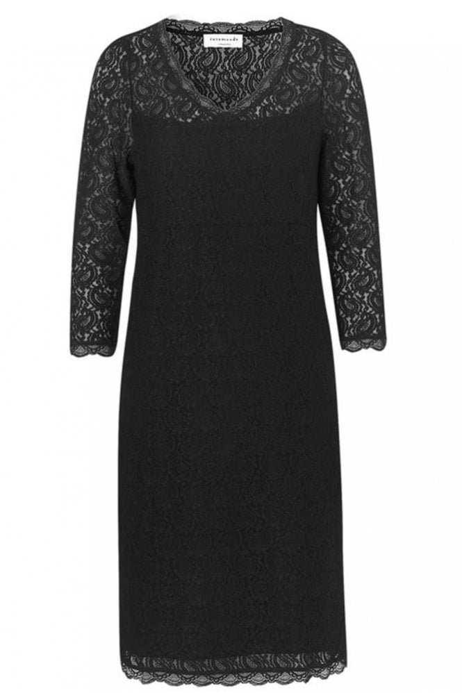 Rosemunde Black Lace Dress
