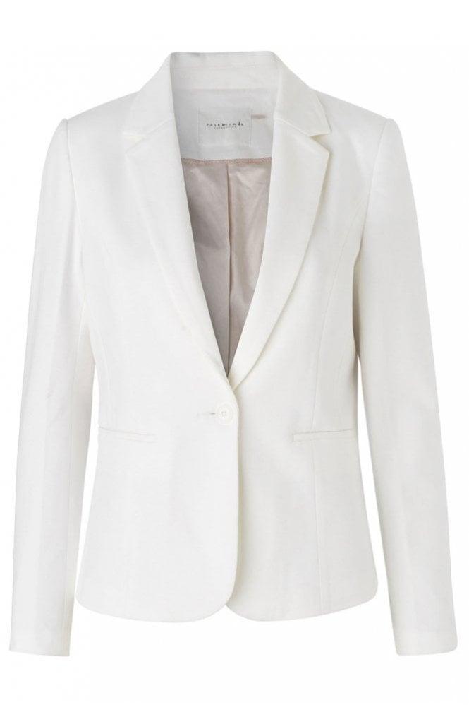 Rosemunde Blazer in New White