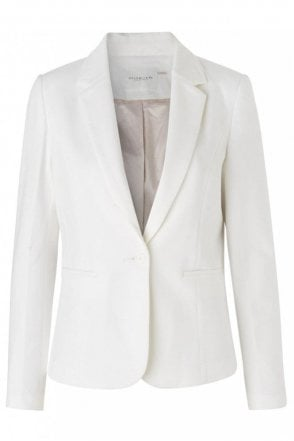 Blazer in New White