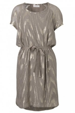Driftwood Dress with Shimmer Details