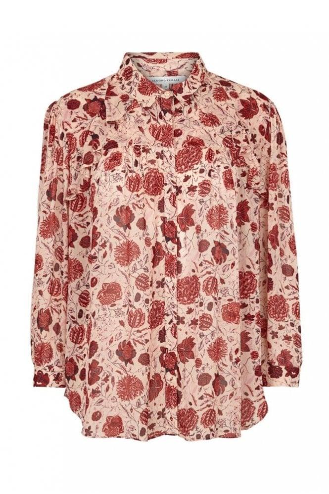 Second Female Bohemia Shirt in Cameo Rose