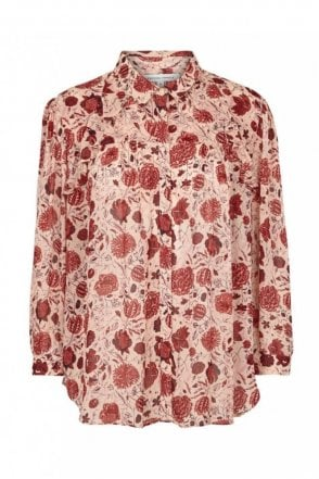 Bohemia Shirt in Cameo Rose