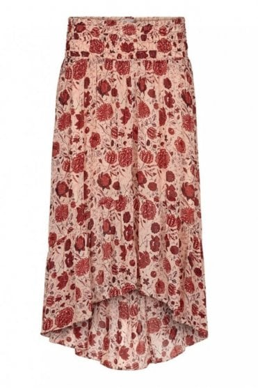 Bohemia Skirt in Cameo Rose
