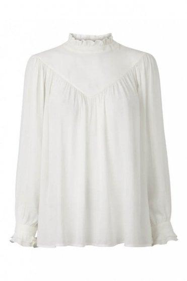 Delilah Blouse in Off White