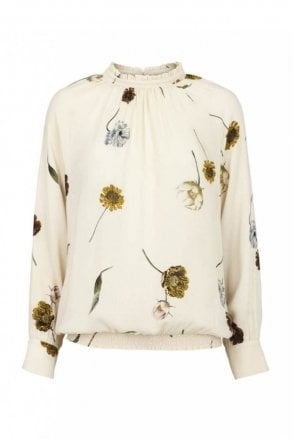 Katy Blouse in Off White