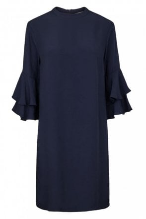 Martina Dress in Navy