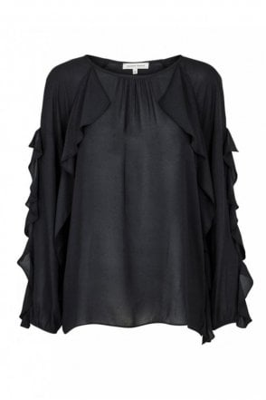 Swan Frill Blouse