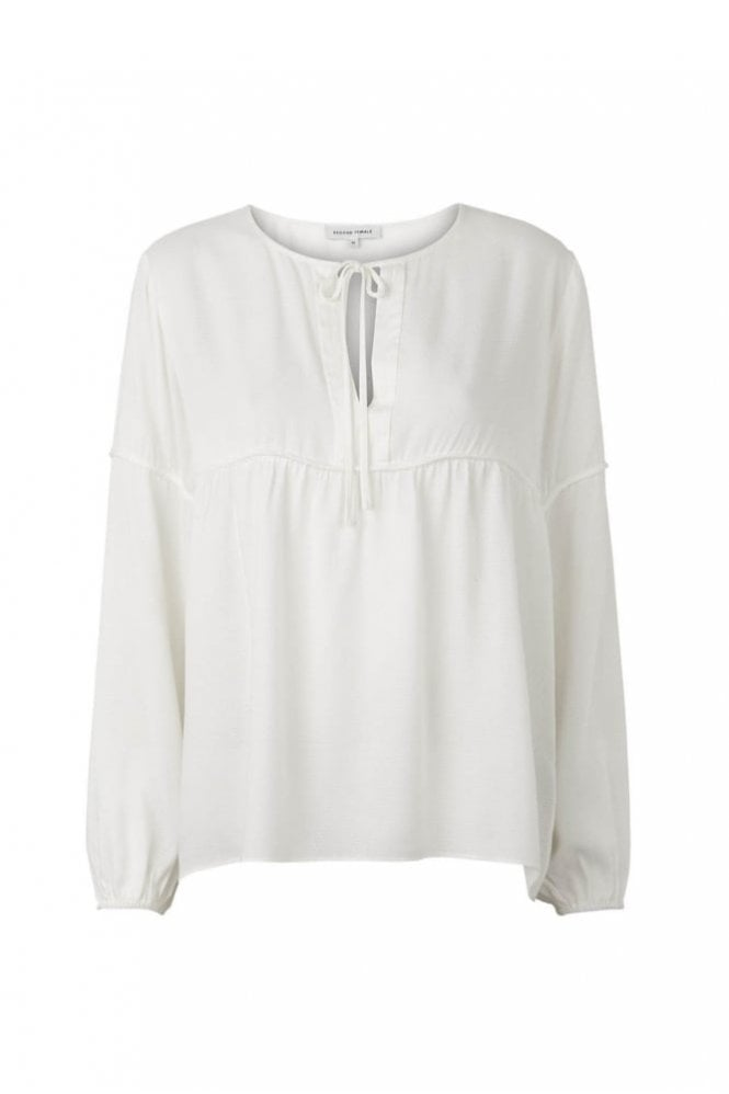 Second Female Valerie Blouse in Off White