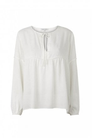 Valerie Blouse in Off White