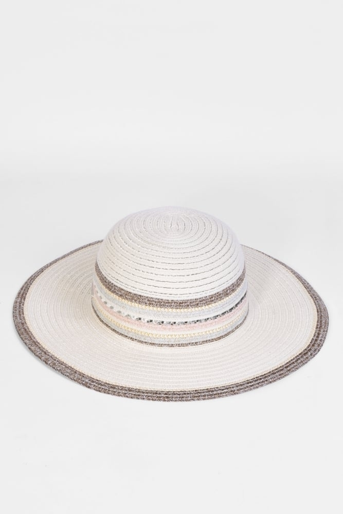 bc5f0bcfcf3ba Seeberger Braided Floppy Hat in Natural at Sue Parkinson