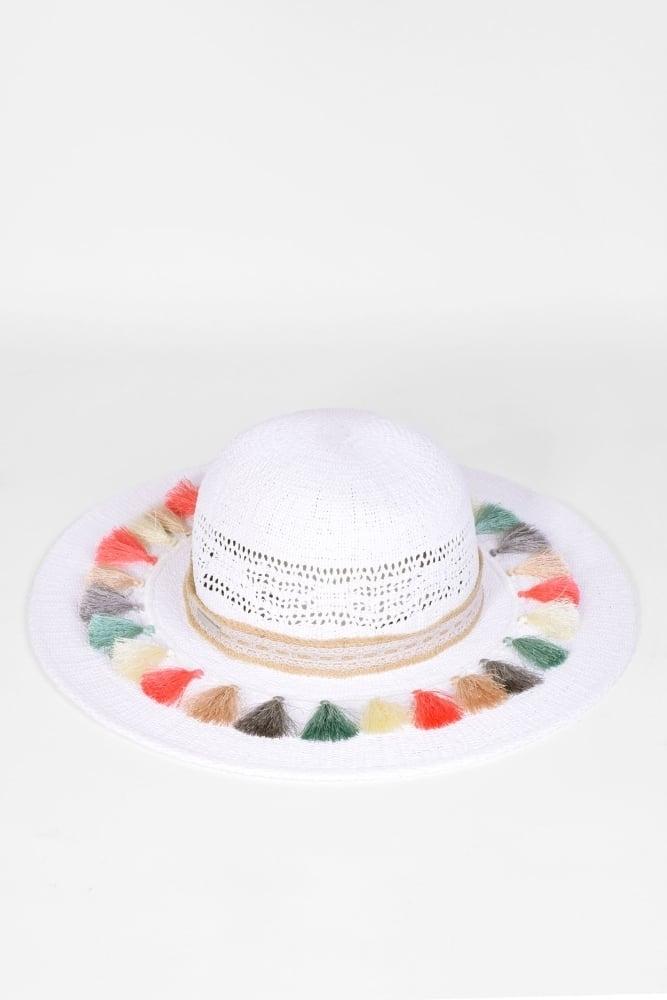 1d45517c6fc32 Seeberger Crochet Raffia Hat in Black Sand at Sue Parkinson