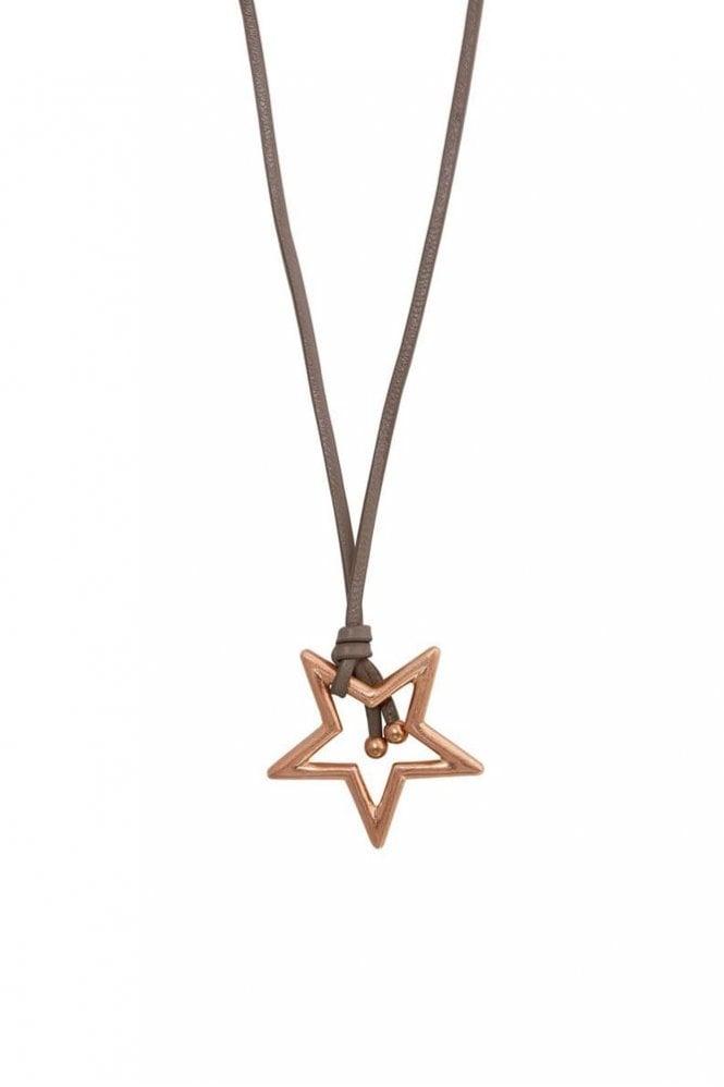 Sence Copenhagen Adrenaline Star Worn Rose Gold Necklace