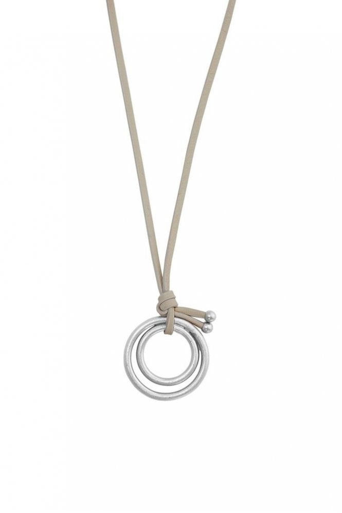 Sence Copenhagen Adrenaline Worn Silver Necklace