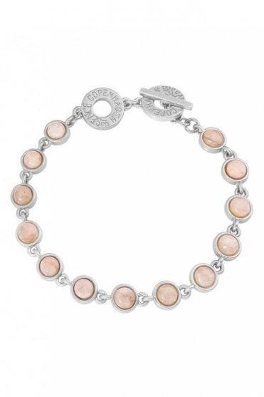 Destiny Rose Aventurine Worn Silver Bracelet