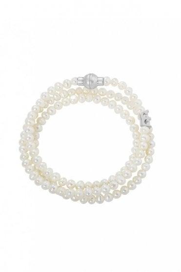 Hippie Freshwater Pearls Bracelet