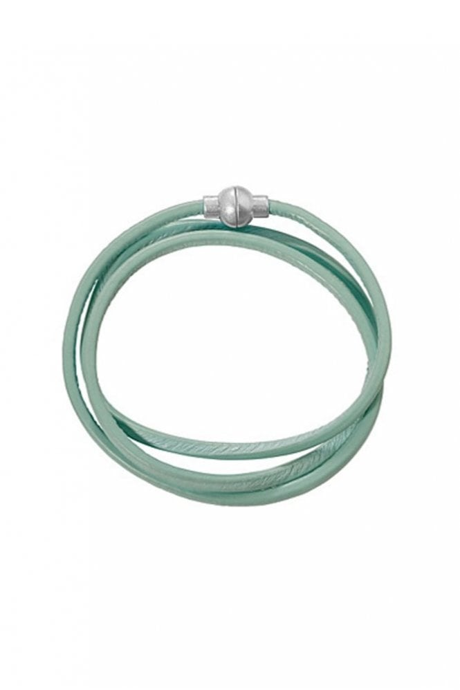 Sence Copenhagen Hippie Mint Leather Bracelet