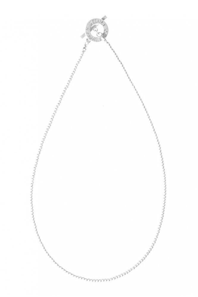 Sence Copenhagen Signature Fine Worn Silver Necklace