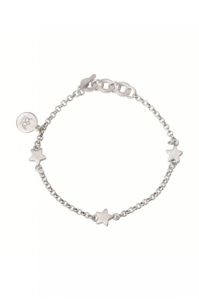 Sence Copenhagen Signature Star Worn Silver Bracelet