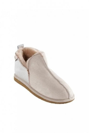 Annie Slipper in Honey Silver