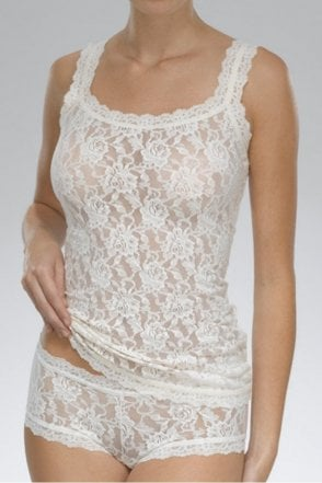 Signature Lace Classic Camisole in Ivory